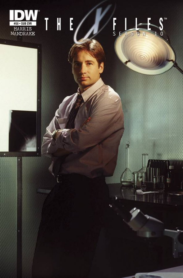 The X-Files, Season 10 #20 (Subscription Cover)