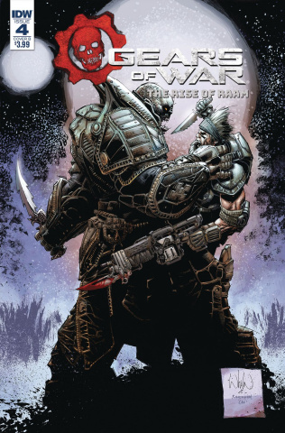 Gears of War: The Rise of RAAM #4 (Brown Cover)