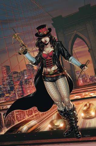 Van Helsing vs. Dracula's Daughter #1 (Coccolo Cover)