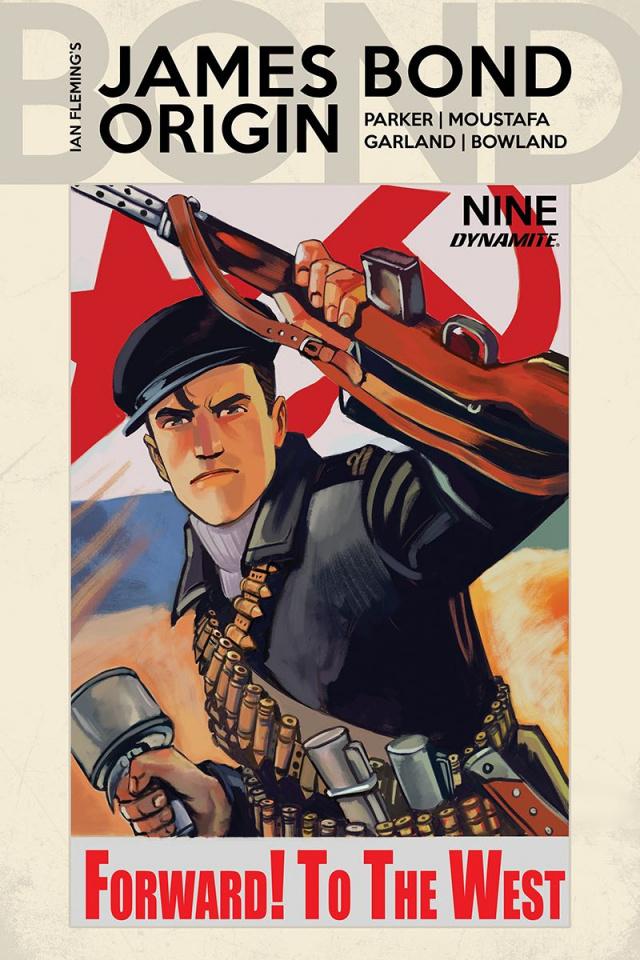 James Bond: Origin #9 (Bob Q Cover)