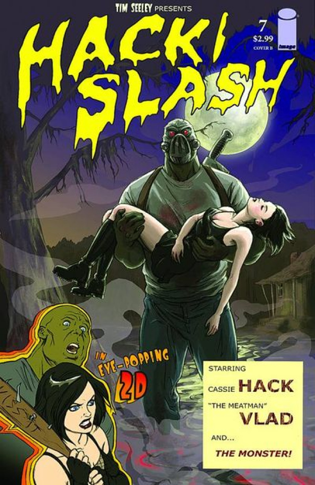 Hack/Slash #7 (Stone Cover)