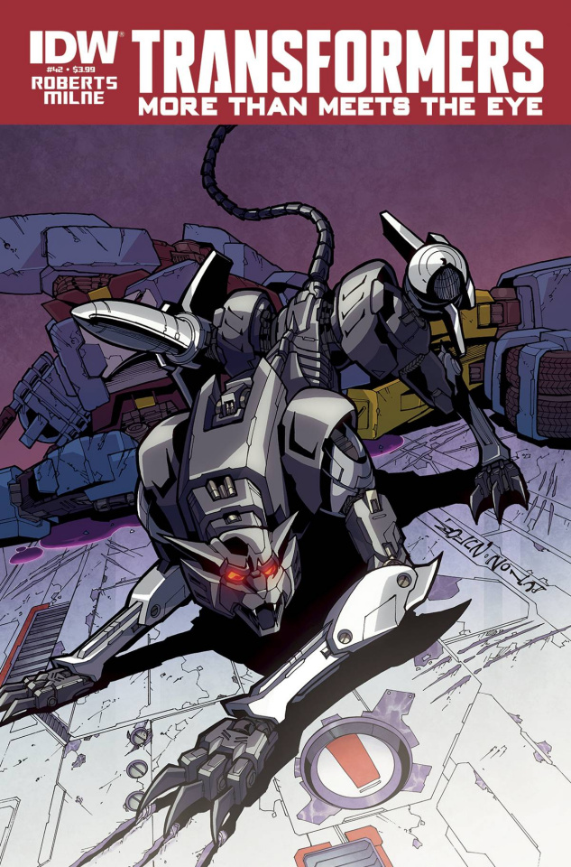 The Transformers: More Than Meets the Eye #42