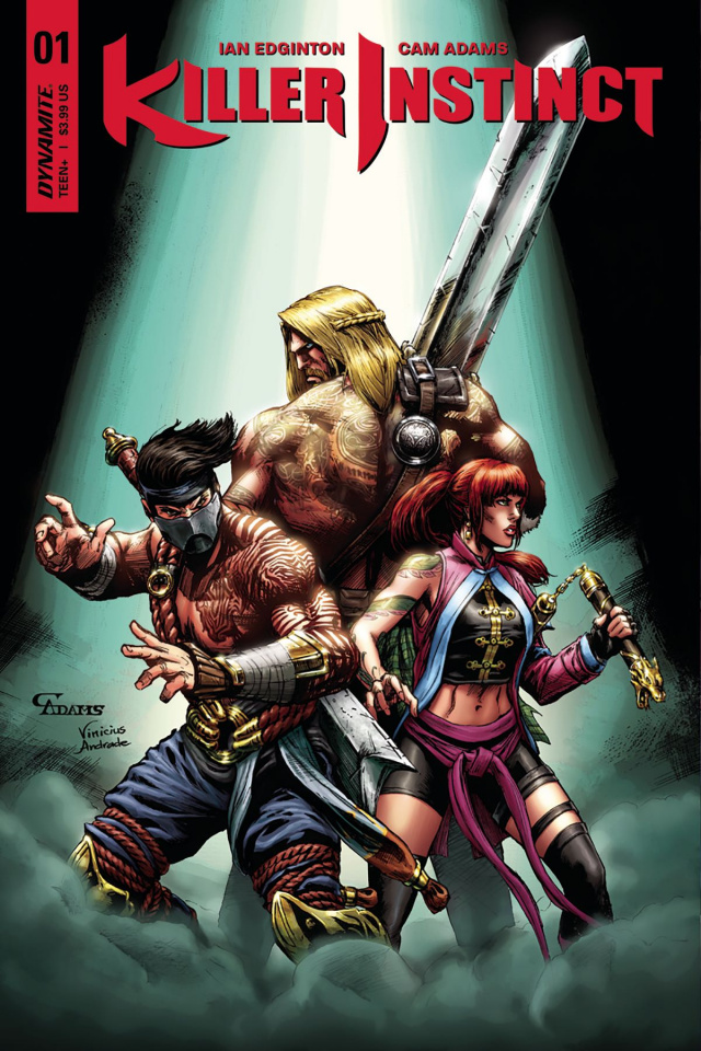 Killer Instinct #1 (Game Play Subscription Cover)