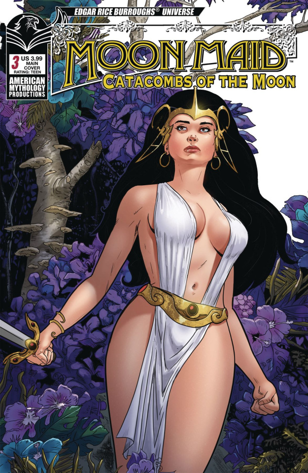Moon Maid #3 (Miracolo Cover)
