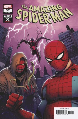 The Amazing Spider-Man #37 (Camuncoli Marvels X Cover)
