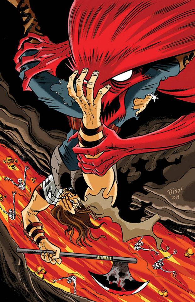 Wrath of the Eternal Warrior #9 (20 Copy Haspiel Cover)