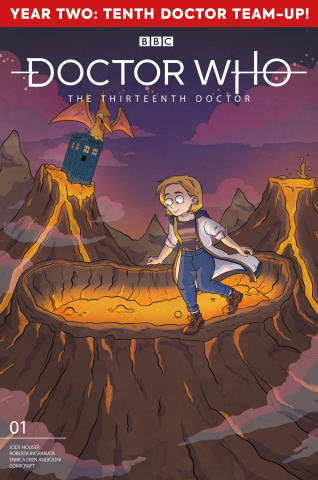 Doctor Who: The Thirteenth Doctor #1 (Graley Cover)