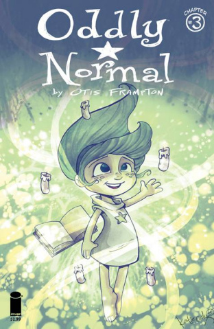 Oddly Normal #3 (Cook Cover)