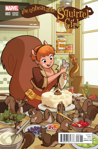 The Unbeatable Squirrel Girl #3 (Women of Marvel Gurihiru Cover)