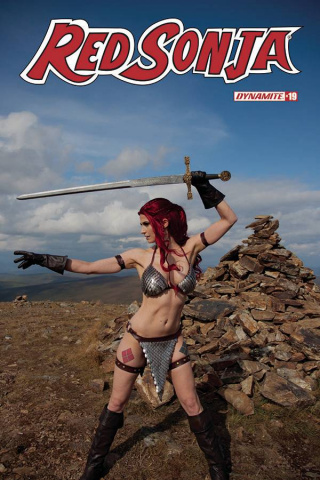 Red Sonja #19 (Decobray Cosplay Cover)