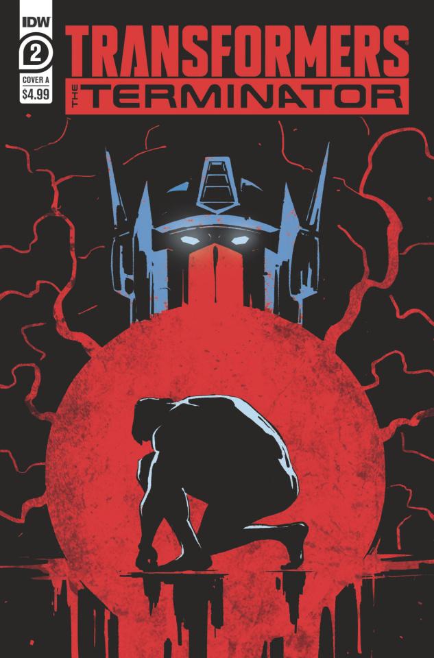 The Transformers vs. The Terminator #2 (Fullerton Cover)