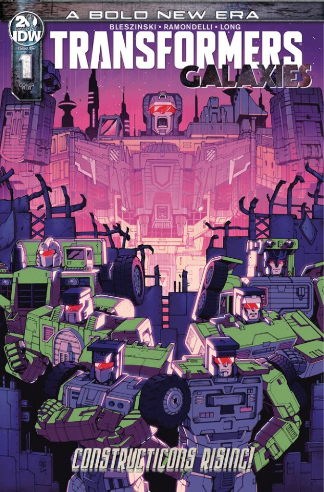 The Transformers: Galaxies #1 (25 Copy Coller Cover)