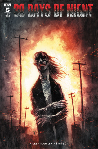 30 Days of Night #5 (Templesmith Cover)