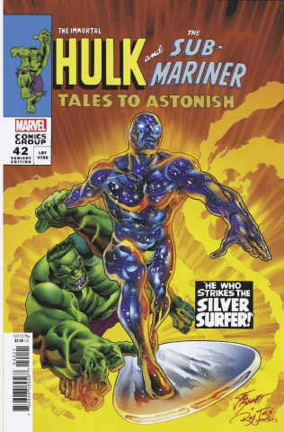 The Immortal Hulk #42 (Bennett Homage Cover)