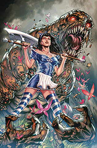 Revenge of Wonderland #3 (Vitorino Cover)