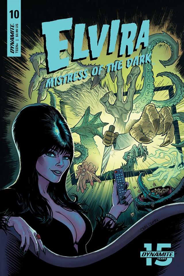 Elvira: Mistress of the Dark #10 (Cermak Cover)