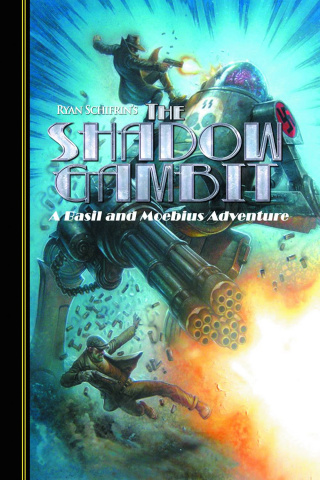 The Adventures of Basil and Moebius Vol. 2: The Shadow Gambit