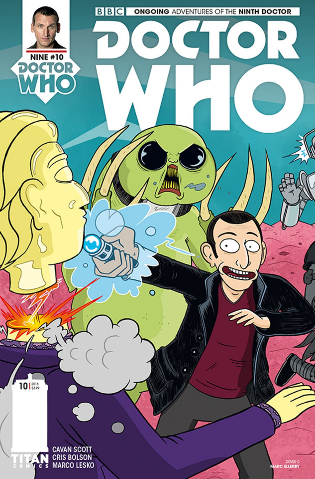 Doctor Who: New Adventures with the Ninth Doctor #10 (Ellerby Cover)
