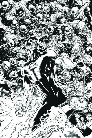 Green Lantern #16 (Black & White Cover)