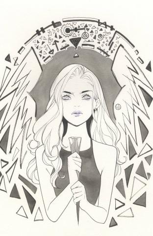 Buffy the Vampire Slayer #19 (25 Copy Momoko Cover)