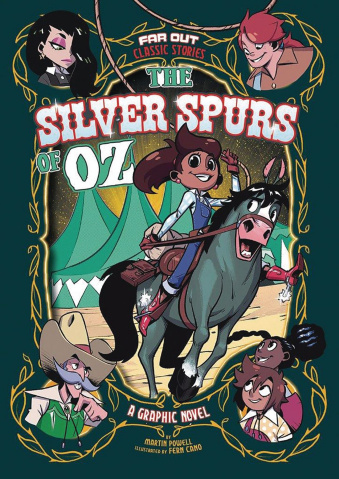 The Silver Spurs of Oz