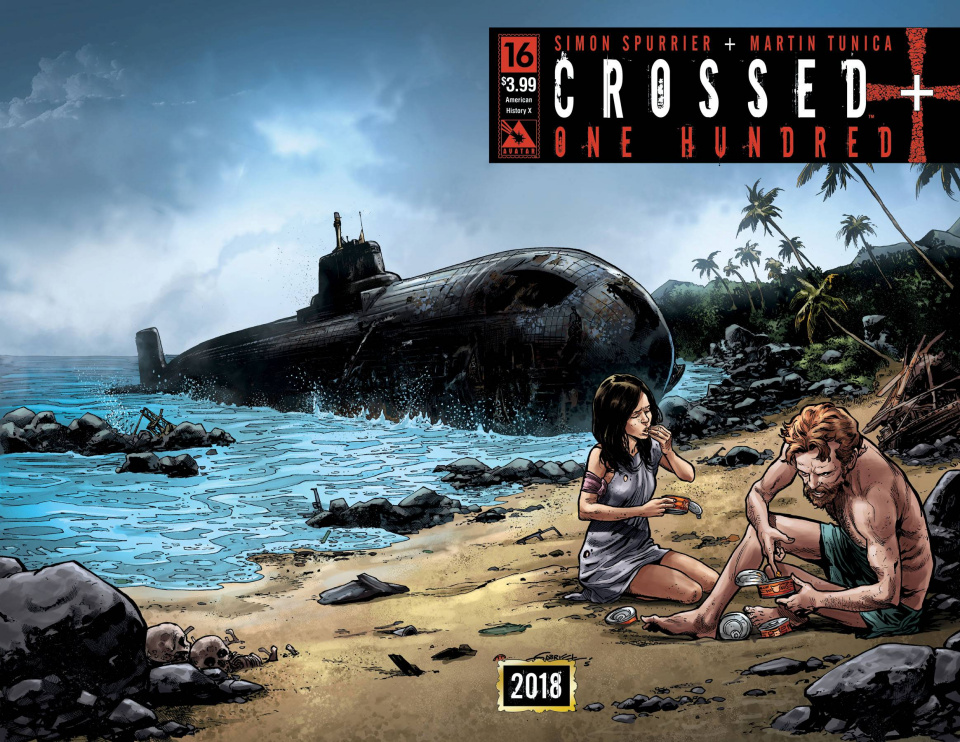 Crossed + One Hundred #16 (American History X Wrap Cover)