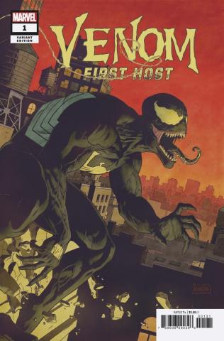 Venom: First Host #1 (Rivera Cover)