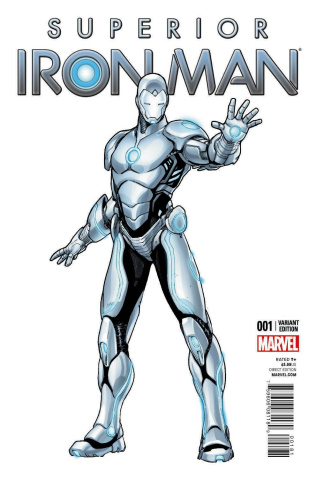 Superior Iron Man #1 (Pichelli Cover)