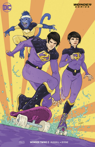 Wonder Twins #2 (Variant Cover)