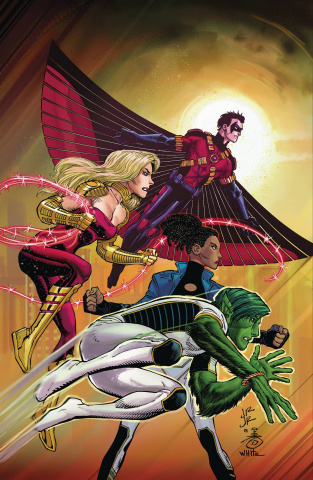 Teen Titans #19 (Romita Cover)