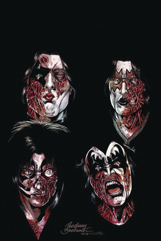 KISS: Zombies #3 (20 Copy Buchemi Virgin Cover)