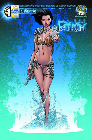 All New Fathom #1 (Aspen Reserved Cover)