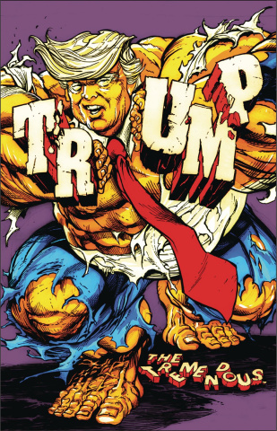 The Tremendous Trump: A Man-Child Covfefe! (Variant Cover)