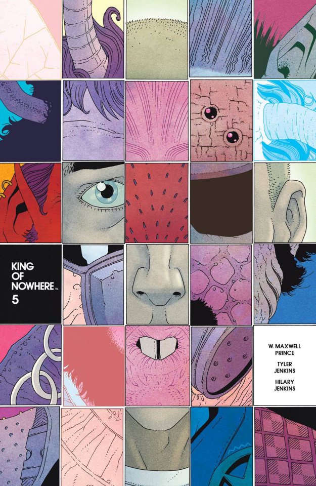 King of Nowhere #5 (Morazzo Cover)