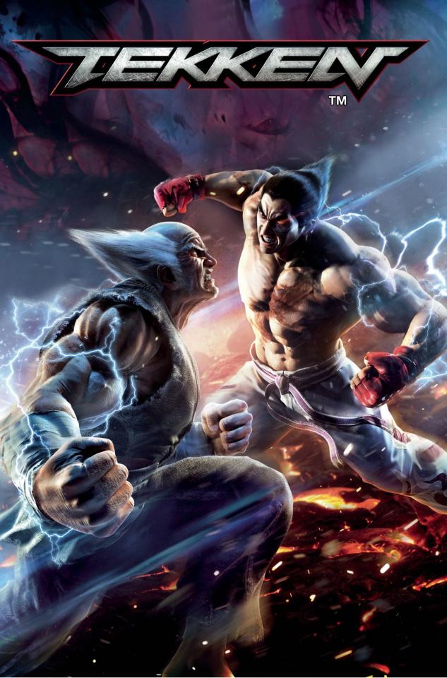 Tekken #2 (Game Var Cover)