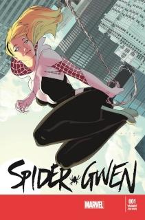 Spider-Gwen #1 (Anka Cover)