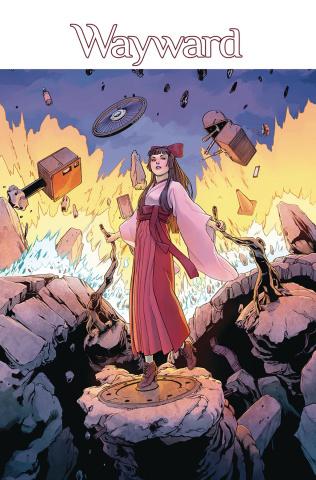 Wayward #23 (Cummings & Bonvillain Cover)
