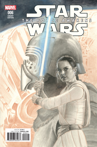 Star Wars: The Force Awakens #6 (Rivera Sketch Cover)