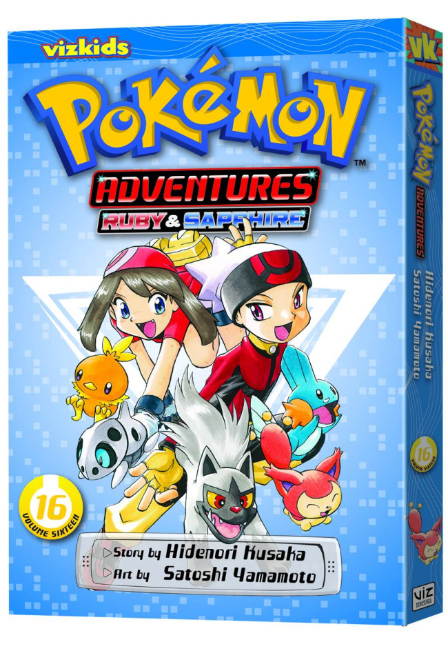 Pokémon Adventures Vol. 16