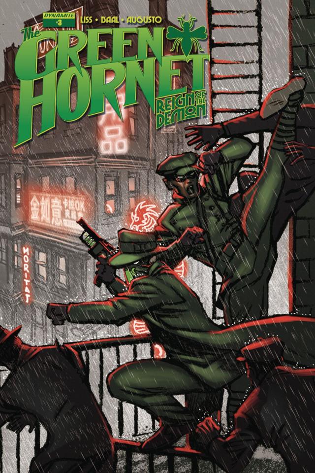 The Green Hornet: Reign of the Demon #3 (Moritat Cover)