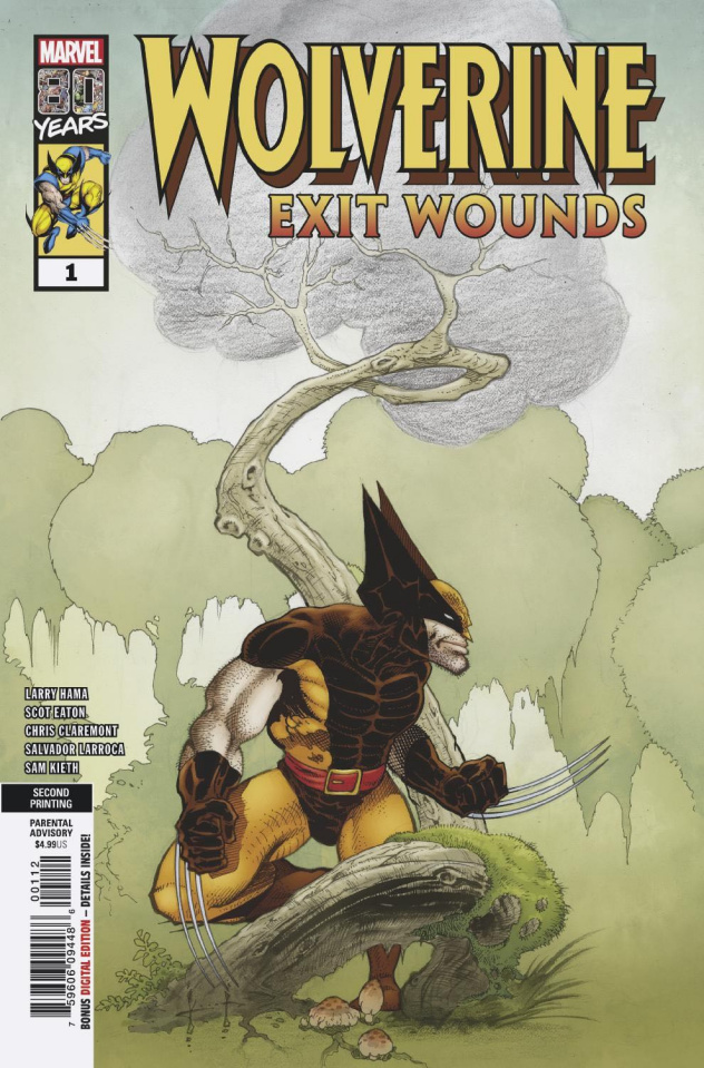 Wolverine: Exit Wounds #1 (Keith 2nd Printing)
