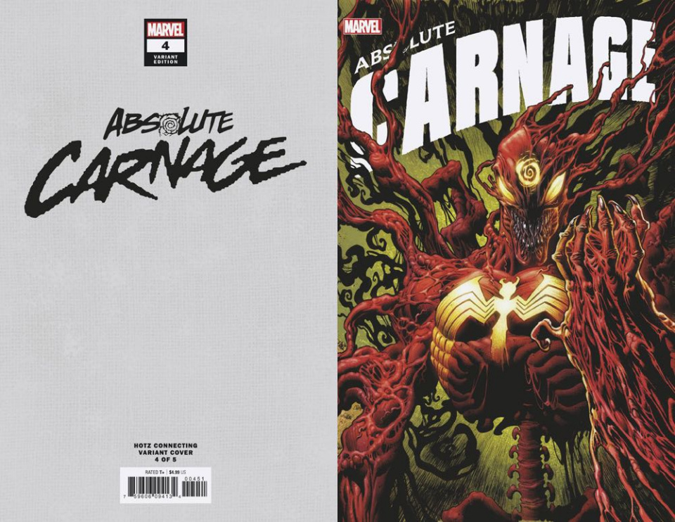 Absolute Carnage #4 (Hotz Connecting Cover)