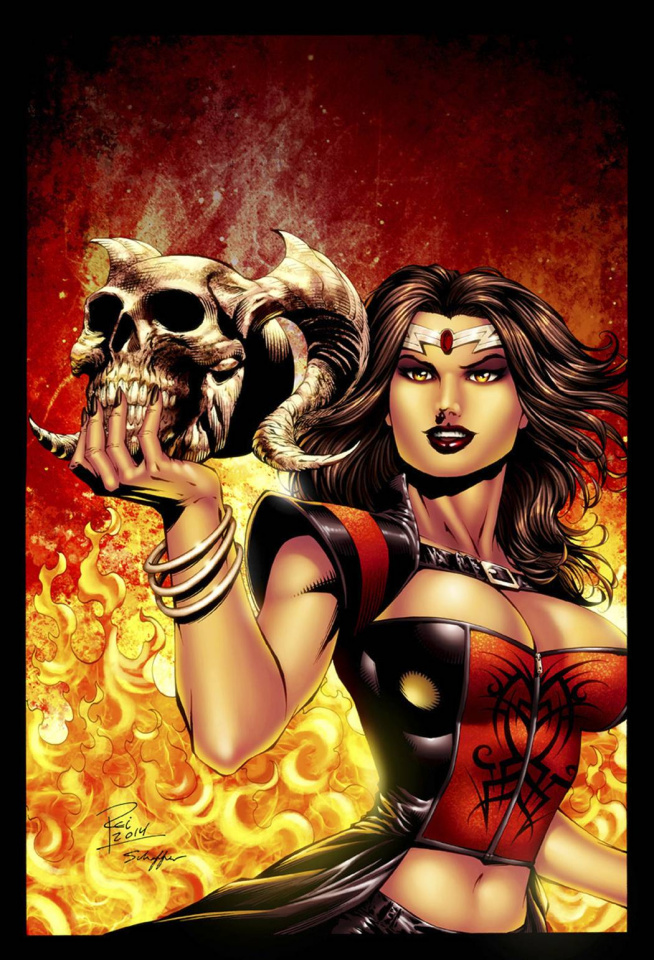 Grimm Fairy Tales: Inferno - The Rings of Hell #3 (Rei Cover)