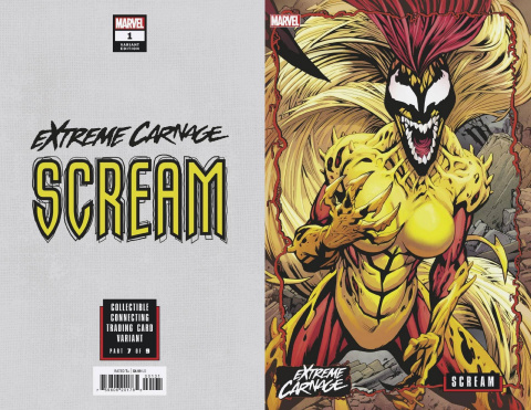 Extreme Carnage: Scream #1 (Johnson Connecting Cover)