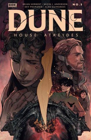 Dune: House Atreides #5 (Cagle Cover)