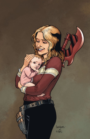 Buffy the Vampire Slayer, Season 12: The Reckoning #1 (Moline Ultra Cover)