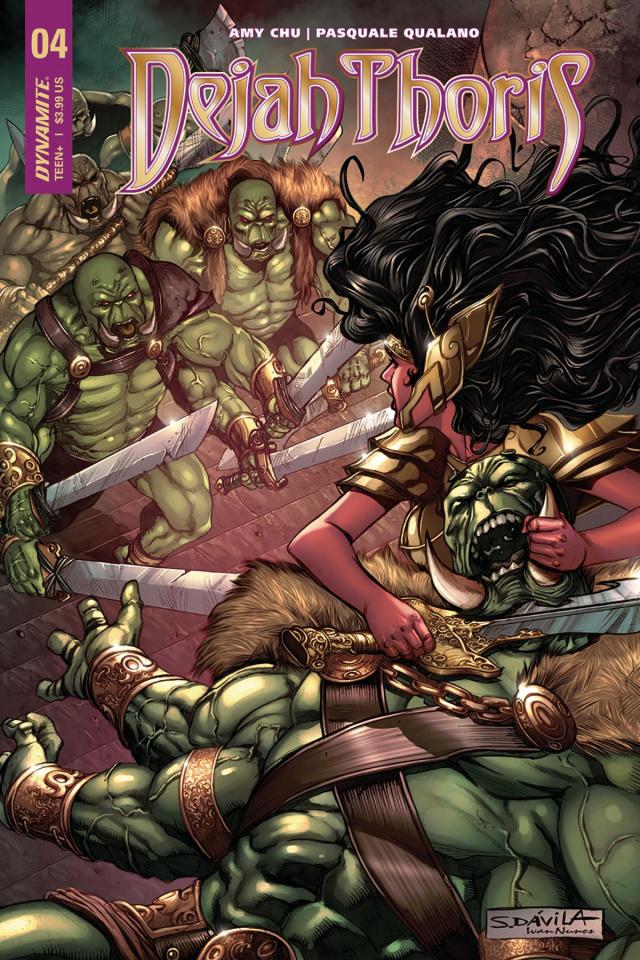 Dejah Thoris #4 (Davila Cover)