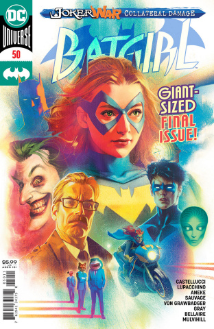 Batgirl #50 (Joshua Middleton Cover)