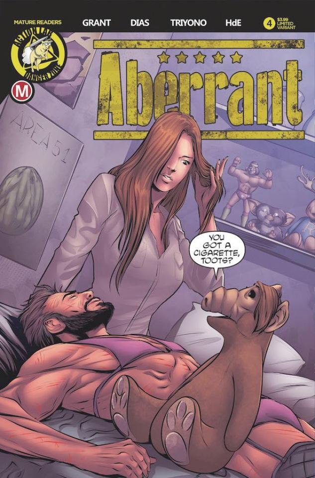 Aberrant #4 (Leon Dias Cover)