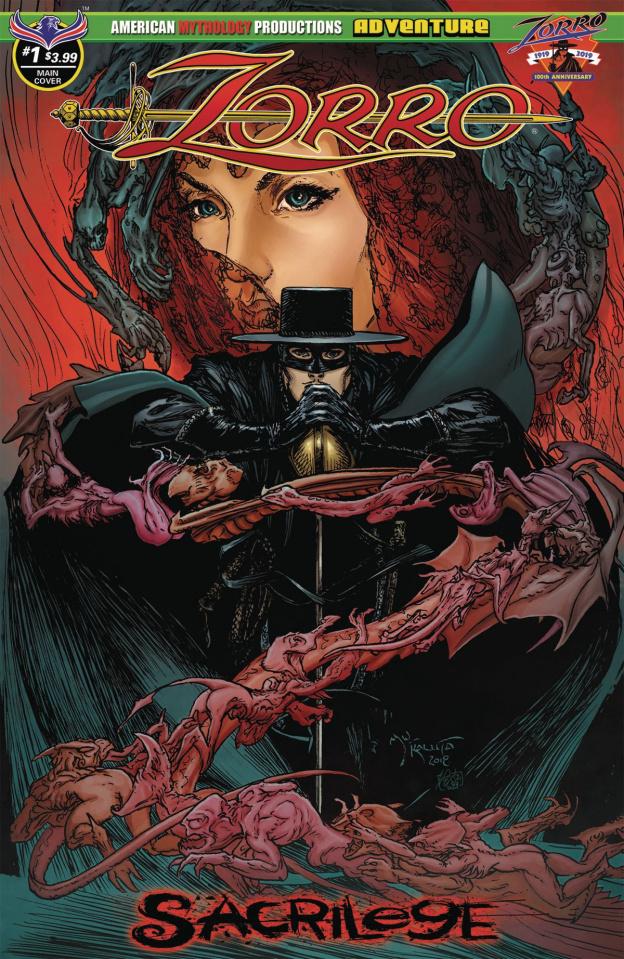 Zorro: Sacrilege #1 (Kaluta Cover)